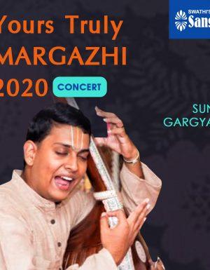 Yours Truly Margazhi – SUNIL R GARGYAN