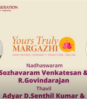YTM – SOZHAVARAM VENKATESAN Carnatic Concert
