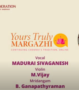 MADURAI SIVAGANESH – Carnatic Concert – YTM