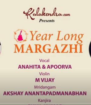 Yours Truly Margazhi – Anahitha Apoorva
