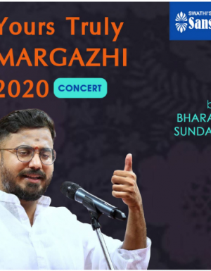 YTMargazhi 2020 Concert by Bharat Sundar