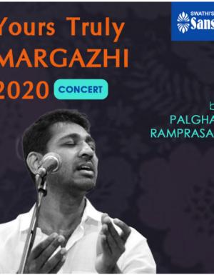 YTMargazhi 2020 Concert by PALGHAT R RAMPRASAD
