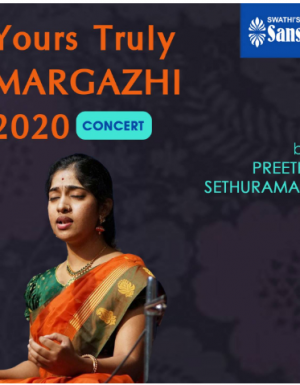 YTMargazhi 2020 Concert by Preethi Sethuraman