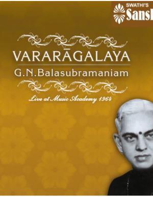 GNB – Vararagalaya – Live at Music Academy 1964 – 3ACD