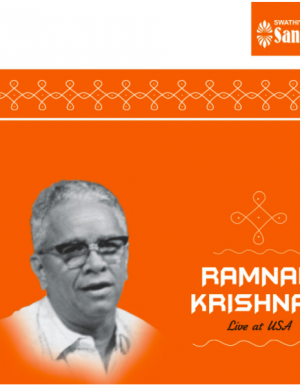 Ramnad Krishnan – Live at USA – 2ACD