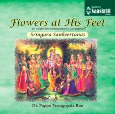 Flowers at His feet  Sringara Sankeertanas ACD