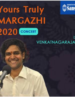 YTMargazhi 2020 Concert by Venkat Nagarajan