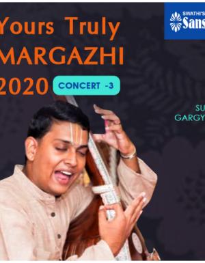 YTMargazhi 2020 Concert by SUNIL R GARGYAN