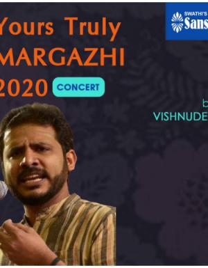 YTMargazhi 2020 Concert by VISHNUDEV KS