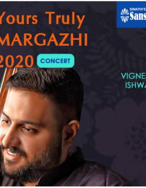 YTMargazhi 2020 Concert by Vignesh Ishwar