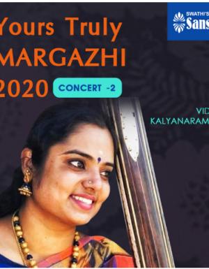 YTMargazhi 2020 Concert by VIDYA KALYANARAMAN
